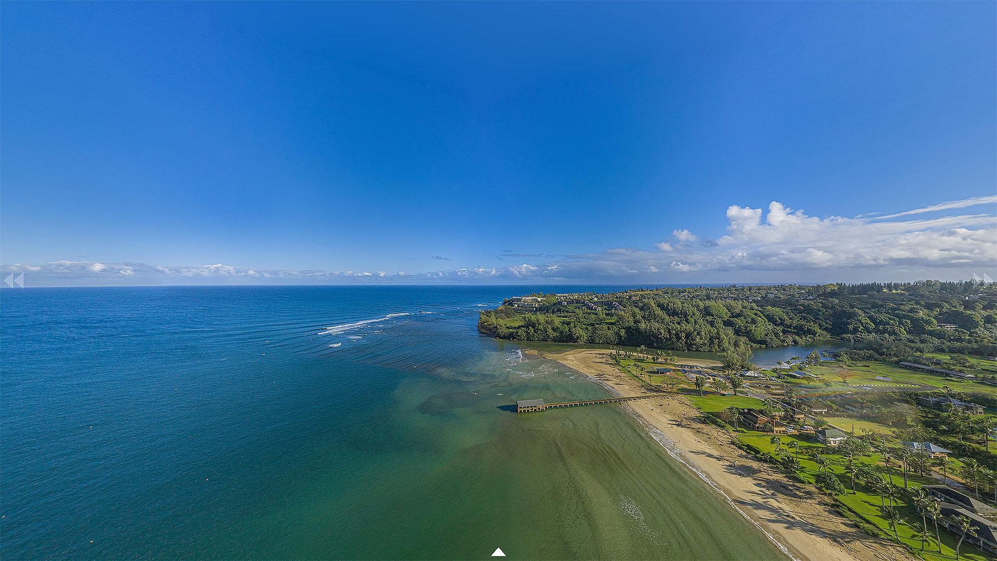 Hanalei Bay Panorama by PanaViz
